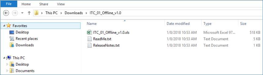 Step 6a- Form GST ITC-01 Offline Tool