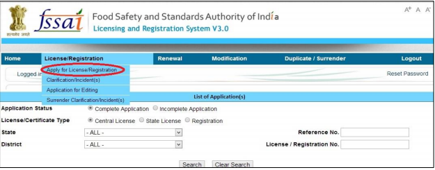 Telangana FSSAI Registration and License- Image 1