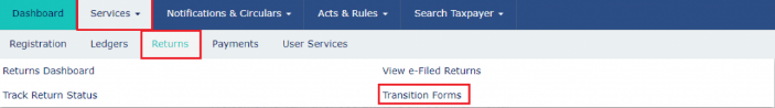 Transition Forms