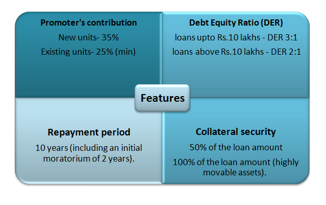 Features of  General Term Loan Scheme