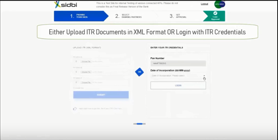 ITR documents