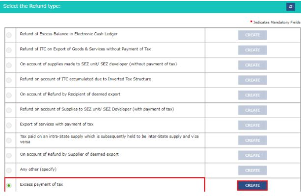 GST RFD–01 - GST Refund Application Form - IndiaFilings