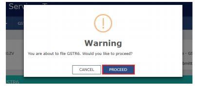 Image 37 GSTR 6 Return Offline Utility