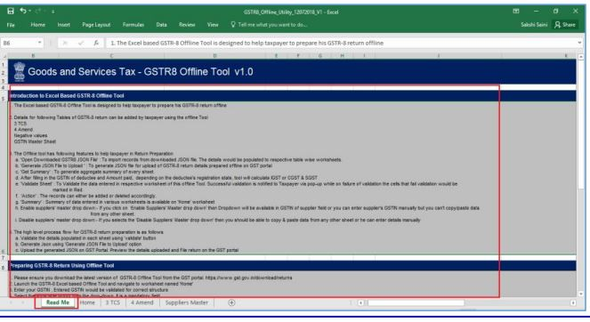 Image 6a GSTR 8 Return Filing