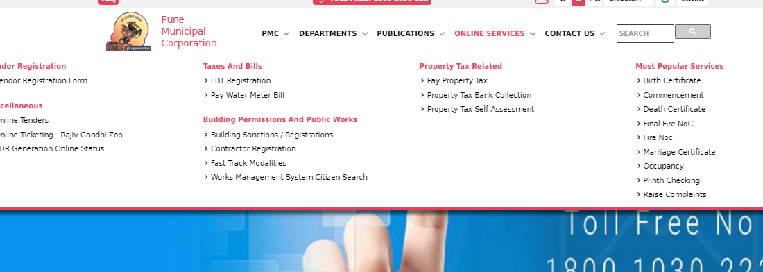 Step 2 - Pune Property Tax