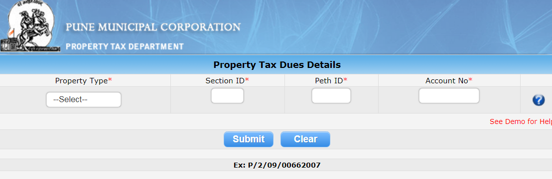 Step 3 - Pune Property Tax