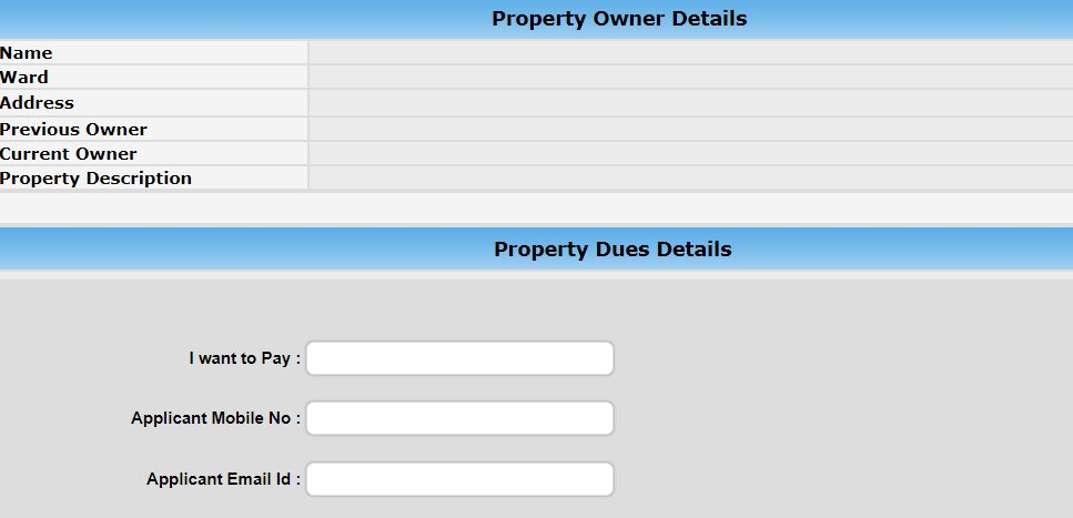 Step 5 - Pune Property Tax