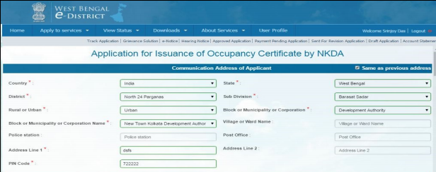 West Bengal Occupancy Certificate- Image 7