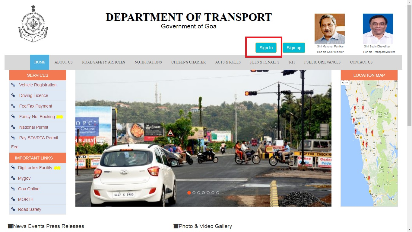 Image 3 Goa Vehicle Tax