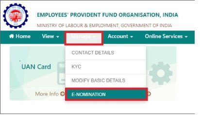 EPF Form 2 - PF Nomination Application Form - IndiaFilings