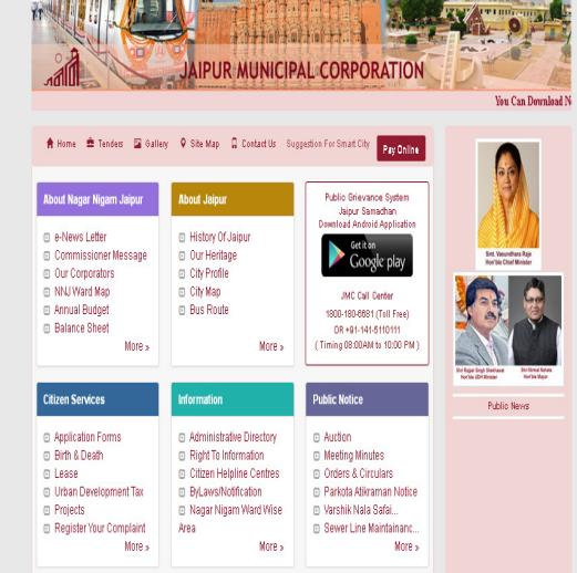 Jaipur Property Tax - Payment Procedure - IndiaFilings