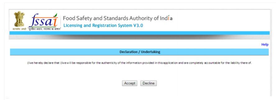 Step 17 - Himachal Pradesh FSSAI License or Registration