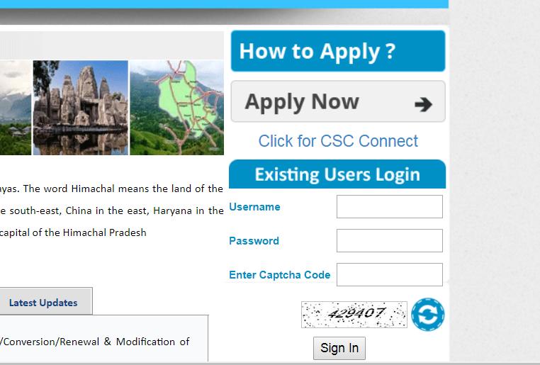 Step 2 - Himachal Pradesh FSSAI License or Registration
