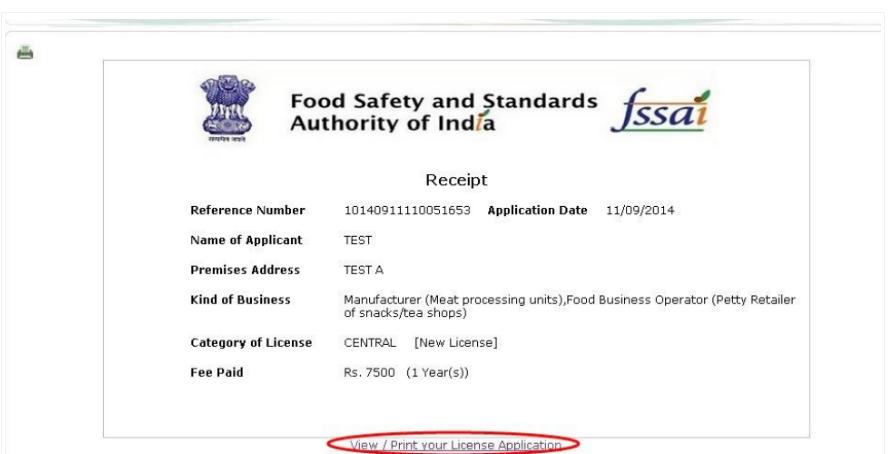 Step 27 - Himachal Pradesh FSSAI License or Registration