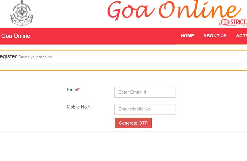 Step 3 - Goa Factory Registration