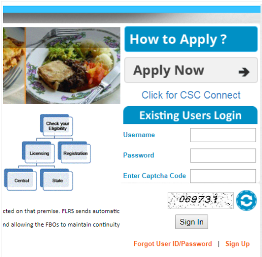 Step 4 - Himachal Pradesh FSSAI License or Registration