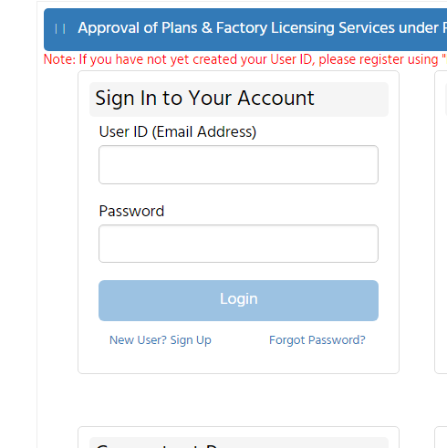 Step 4 - Madhya Pradesh Factory Registration