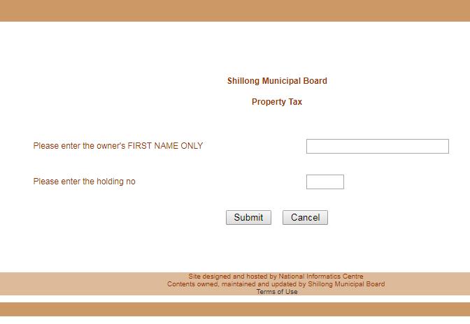 Step 4 - Meghalaya Property Tax