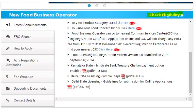 Step 5 - Himachal Pradesh FSSAI License or Registration