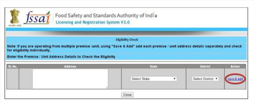 Step 6 - Himachal Pradesh FSSAI License or Registration
