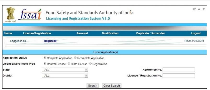 status of FSSAI License - Himachal Pradesh FSSAI License or Registration