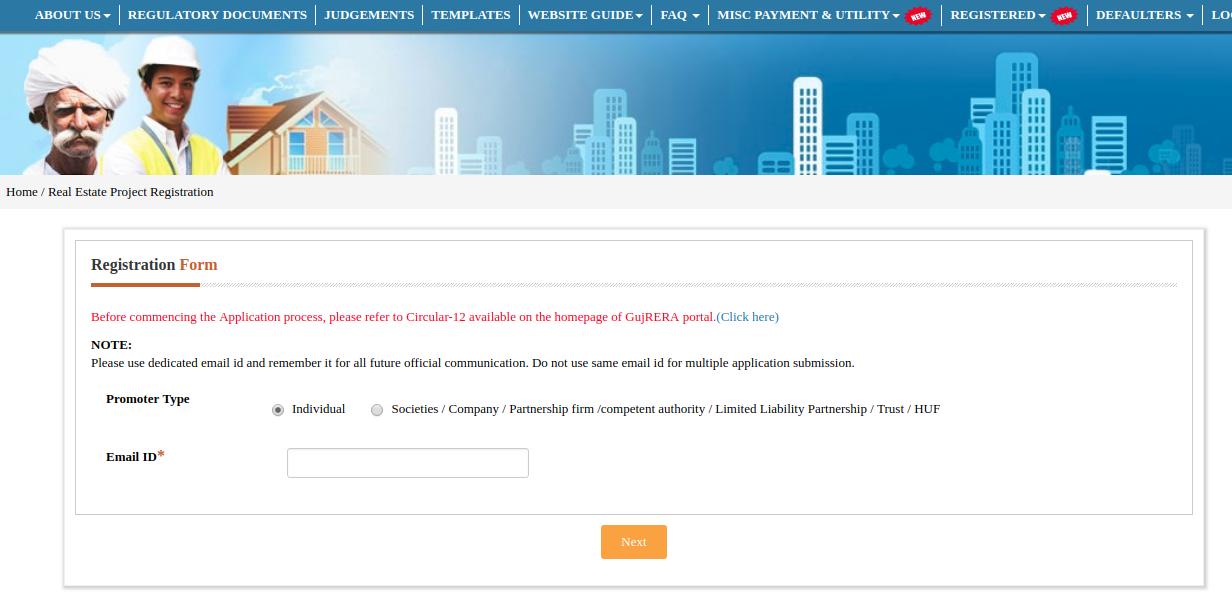 Gujarat RERA Registration of Projects -Image 2