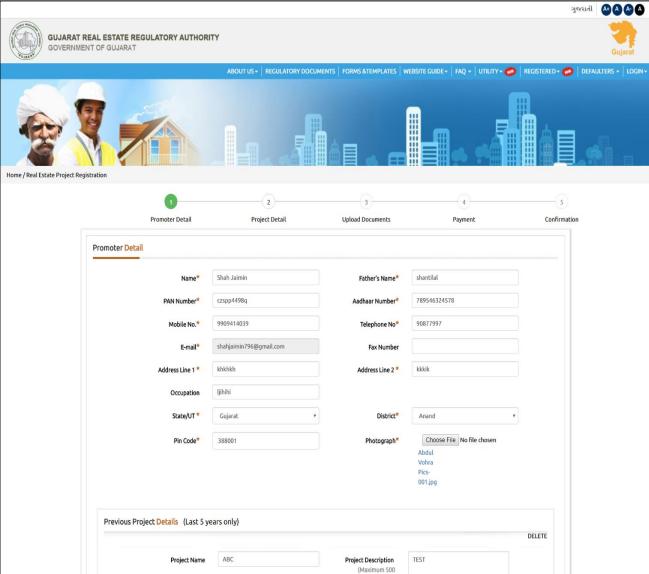 Gujarat RERA Registration of Projects -Image 3