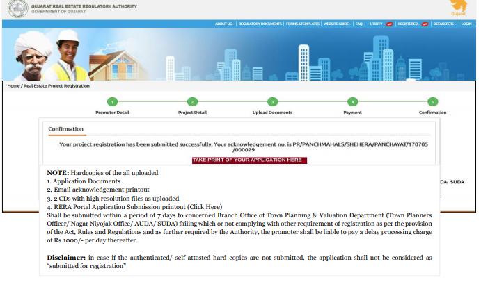 Gujarat RERA Registration of Projects -Image 7