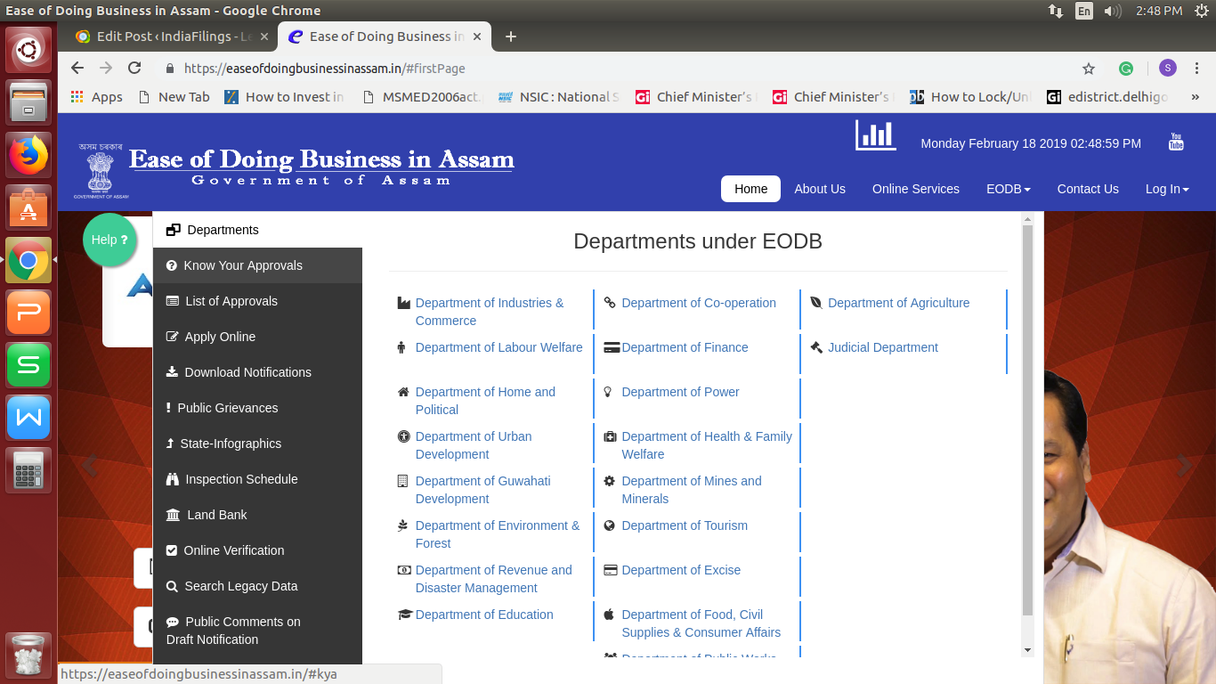 Image 2 Ease Of Doing Business In Assam Portal