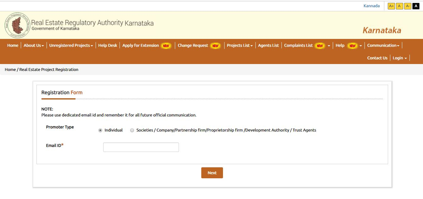 Image 2 Karnataka RERA registration for Projects