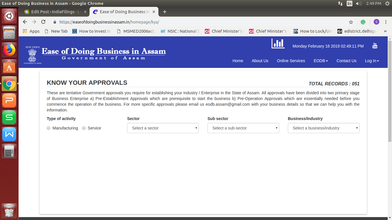 Image 3 Ease Of Doing Business In Assam Portal