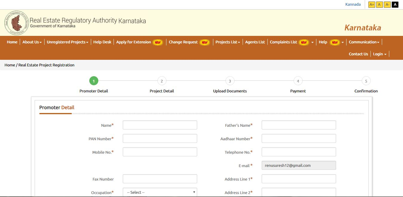 Image 3 Karnataka RERA registration for Projects