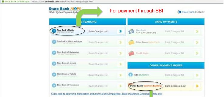Image 8 Online Payment of ESIC Monthly Contribution