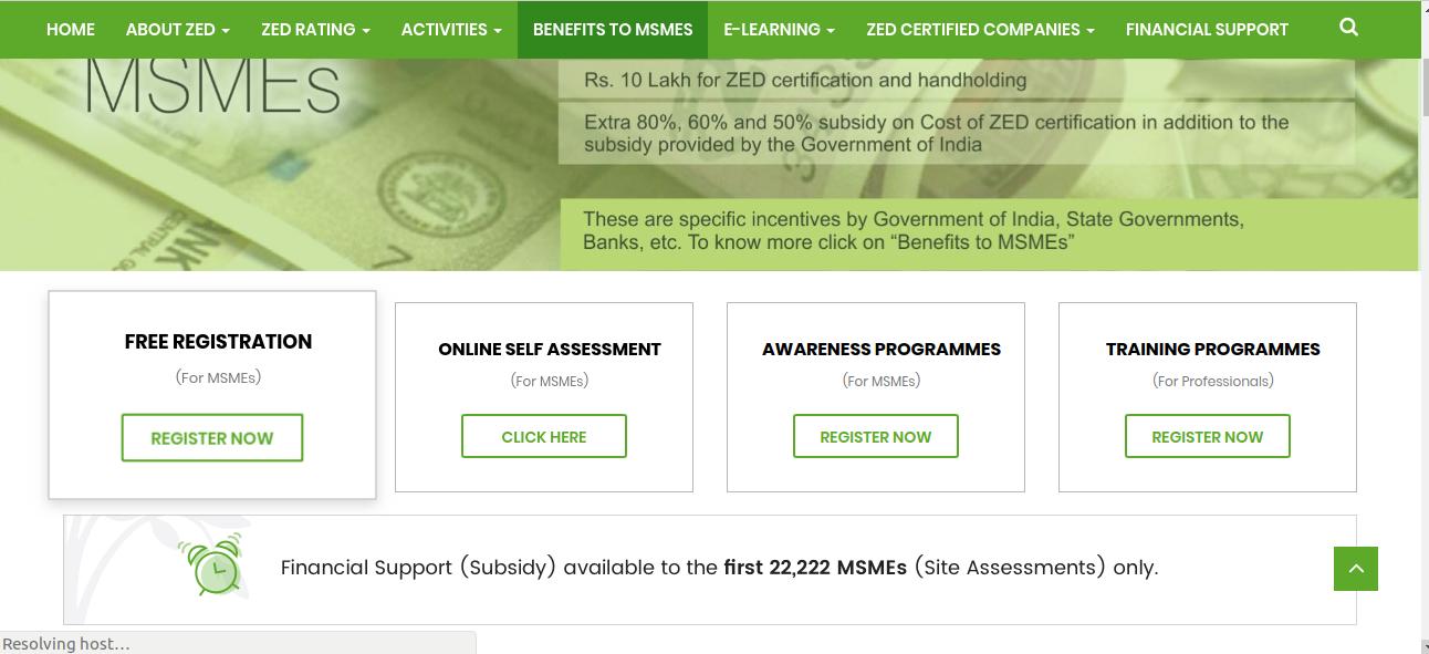 Image 2 ZED Certification Scheme