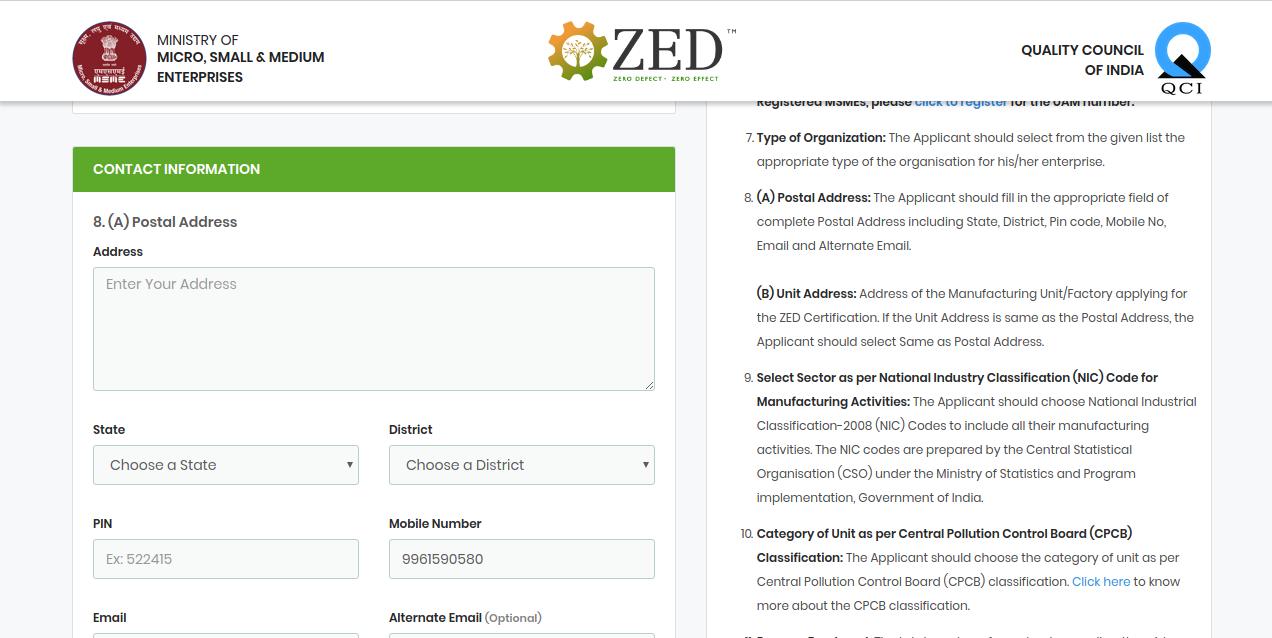 Image 5 ZED Certification Scheme