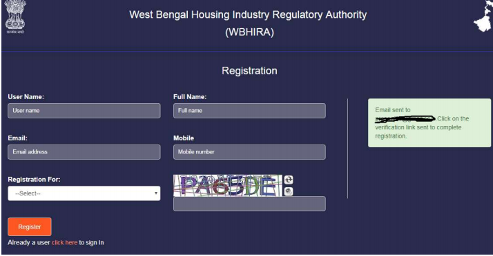 Step 5 - West Bengal RERA Registration for Projects