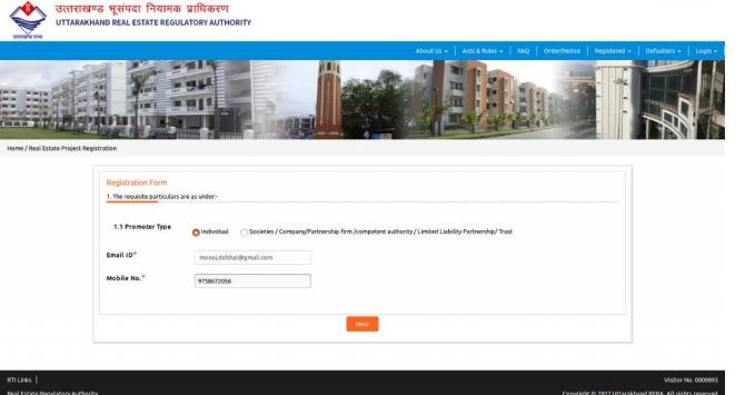 Uttarakhand RERA Registration - Image 2
