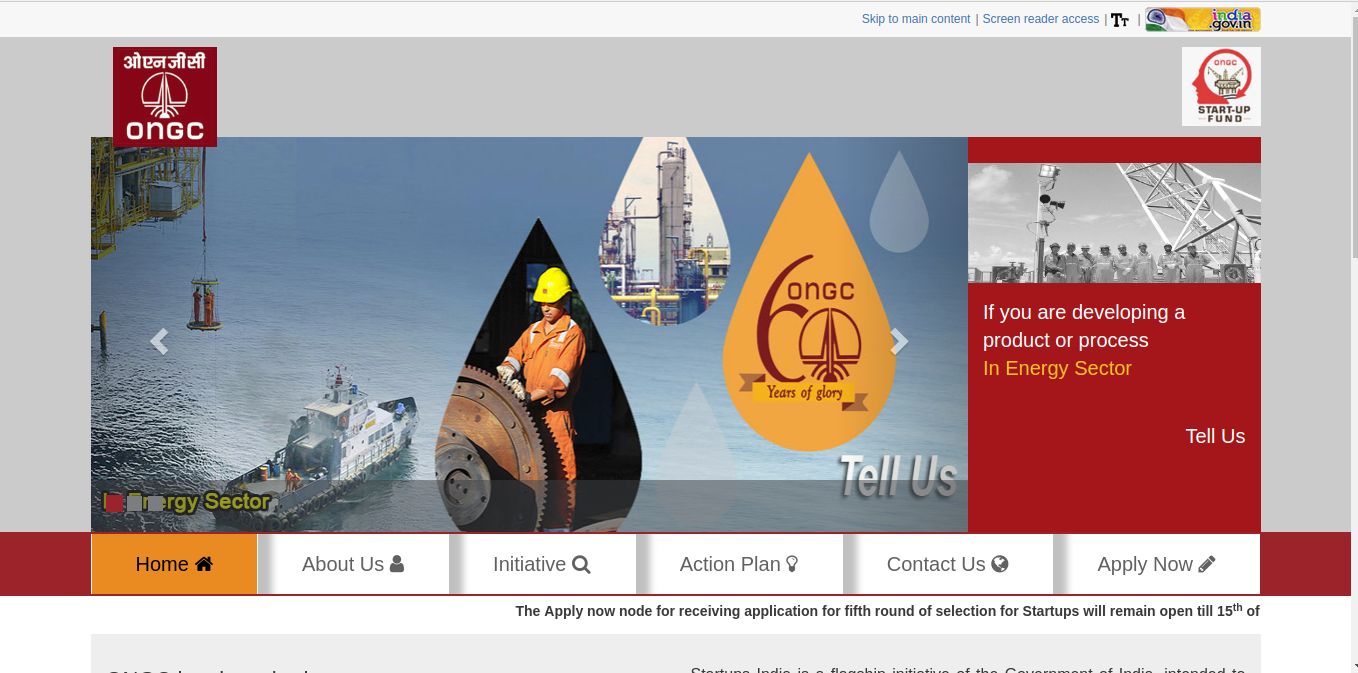 Image 1 ONGC Start-Up Fund