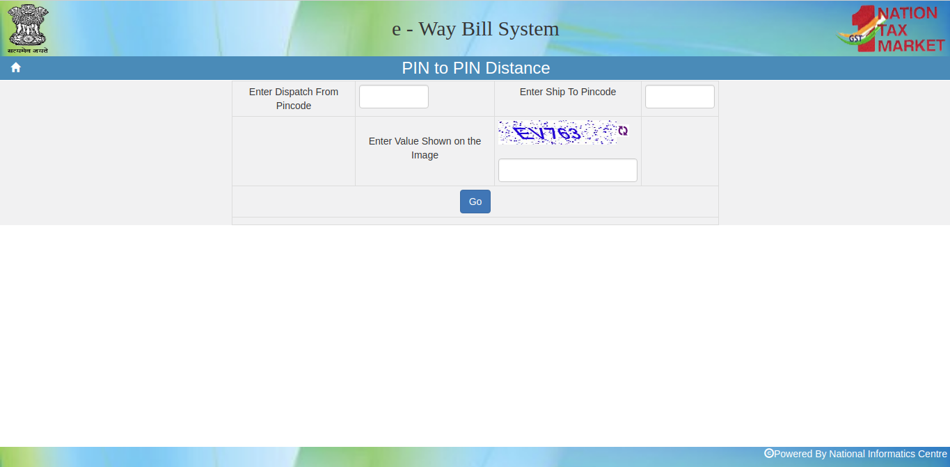 Image 2 Enhancement in e-Way Bill System