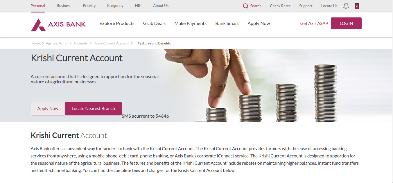 Image 3: Krishi Current Account