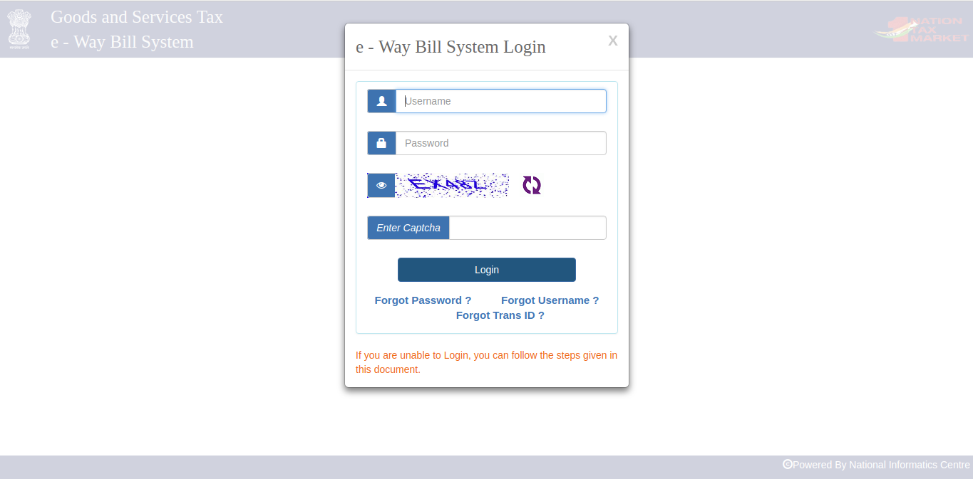 Image 5 Enhancement in e-Way Bill System