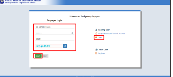 Step 5: Scheme for Budgetary Support