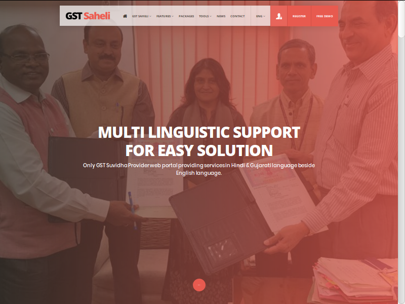 Step 2:GST Saheli Portal Registration