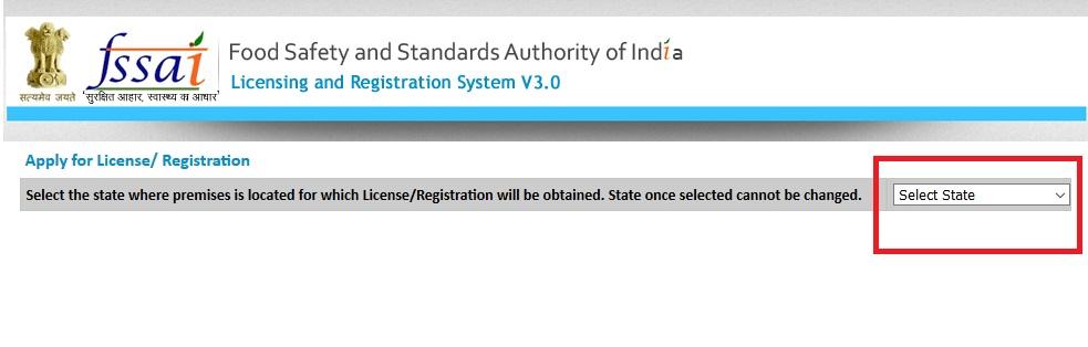 Step 4-FSSAI Registration for Restaurants