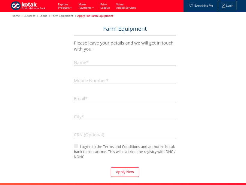 KMB Farm Equipment Loan - IMage 1