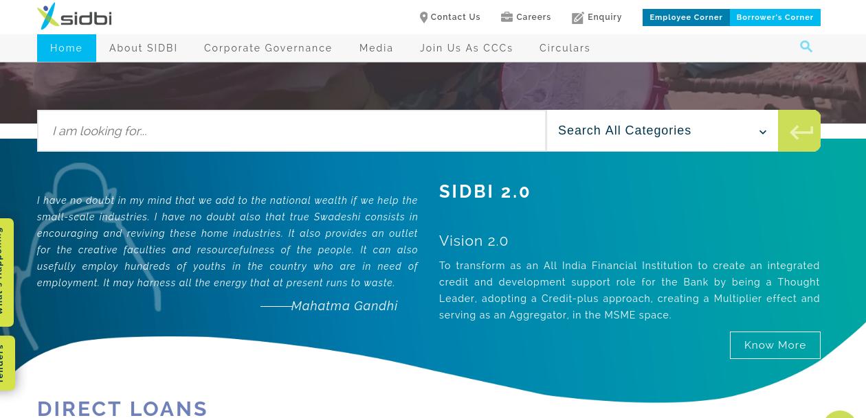 SIDBI General Purpose Term Loan - Application Procedure