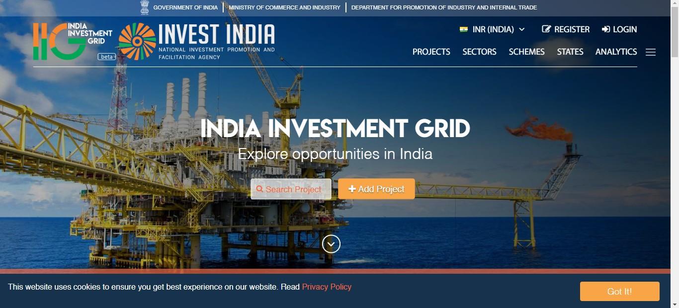 Home page of IIG