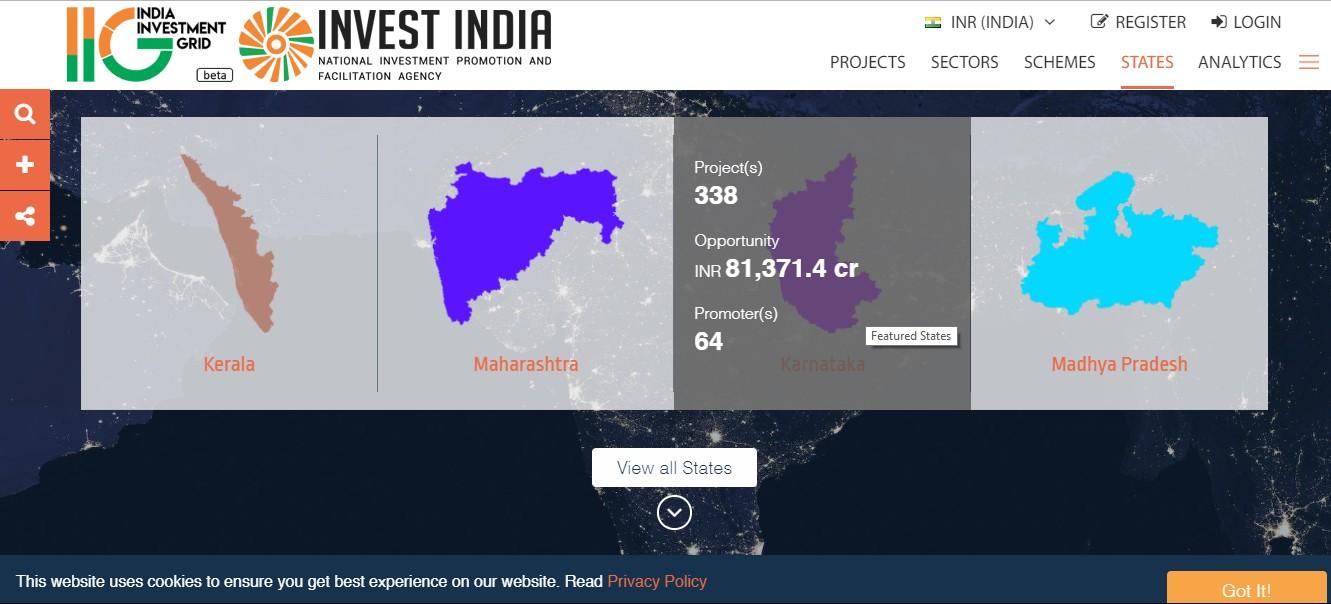 Information on States