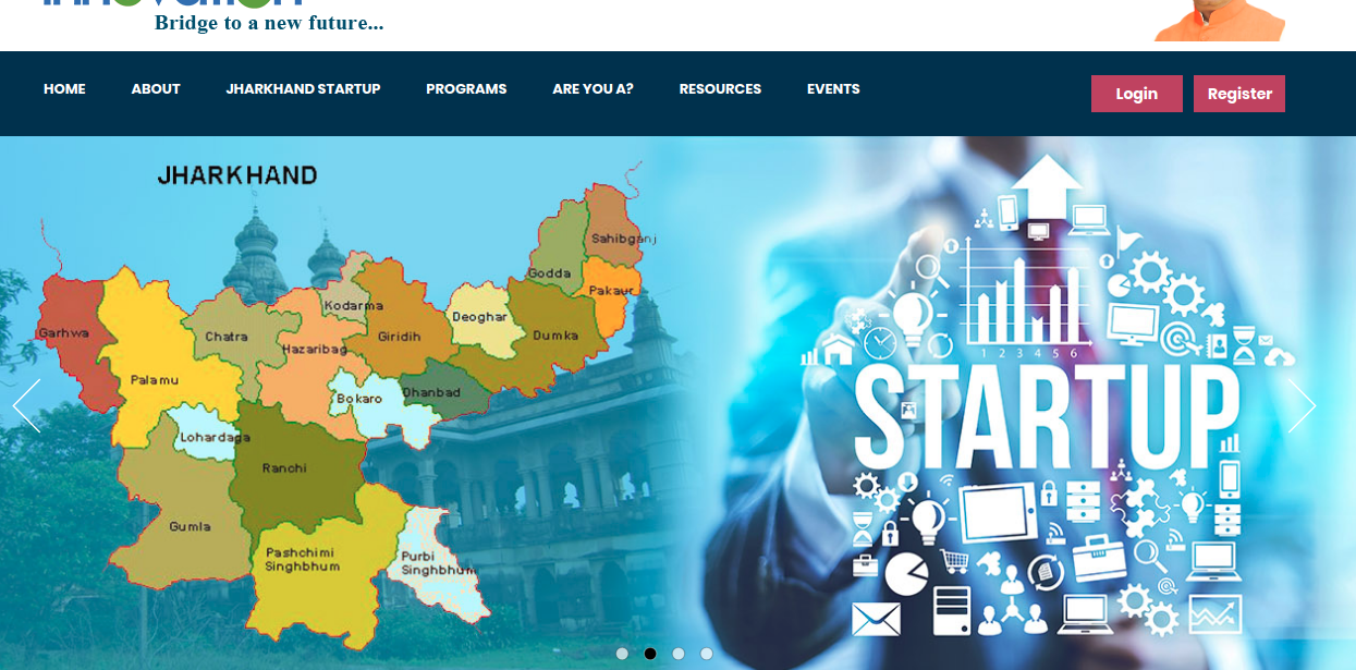 Startup Jharkhand - Home Page