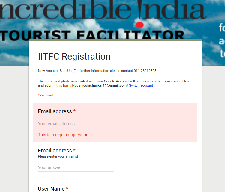 Step 4 - Incredible India Tourist Facilitator Certification (IITFC)